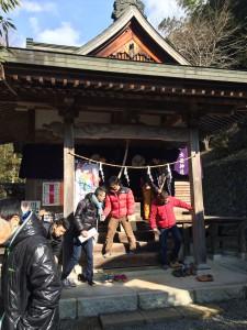 大嶽神社に参拝