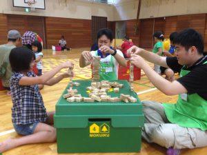 【イベント】「木育キャラバン」開催(8月17日、18日)