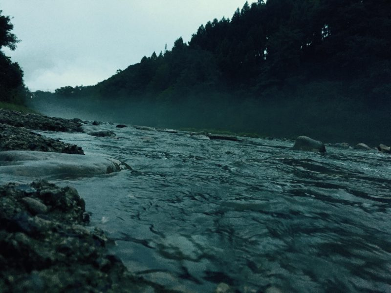 山もいいけど川も好き!
