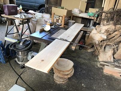 事務の人が木工してみた
