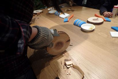 【イベント】東京の森のお話と木の鍋敷きをつくろう
